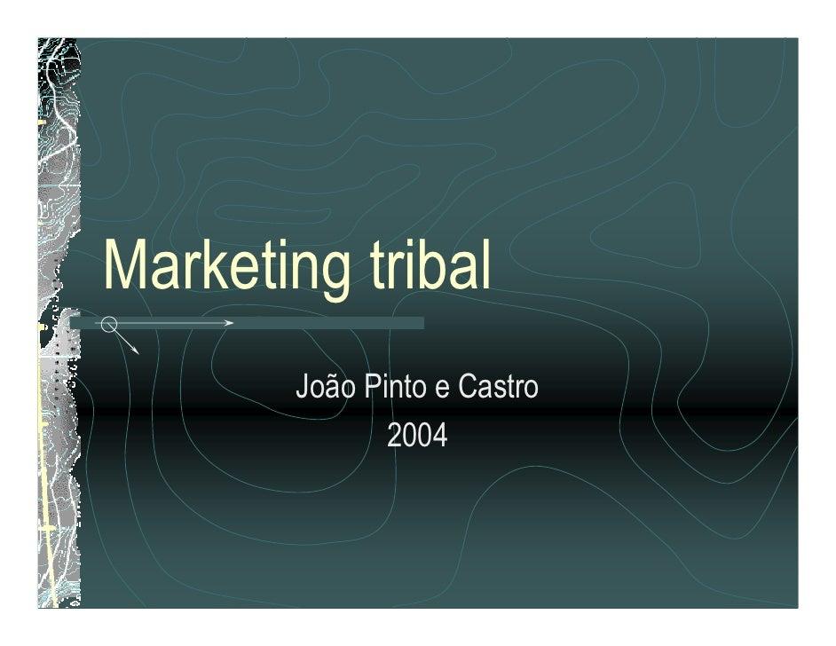 Marketing tribal        João Pinto e Castro               2004
