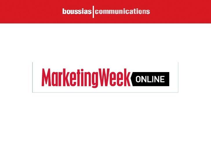 Marketing Week Online