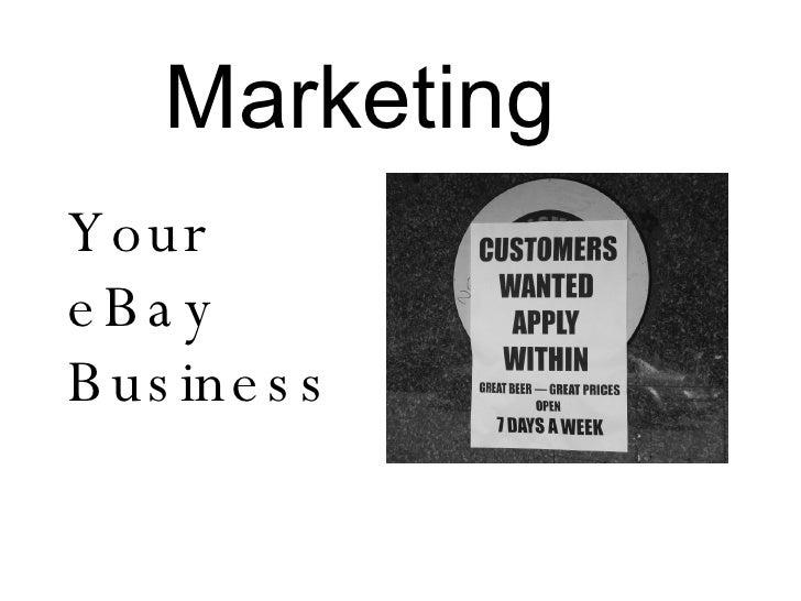 Marketing Your eBay Business