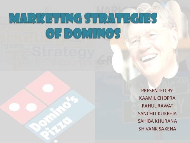 Comprehensive analysis of marketing strategies of domino's
