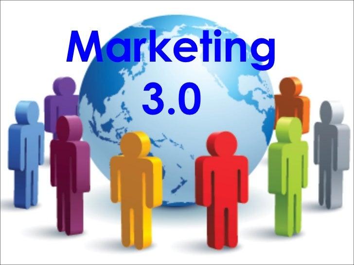 .Marketing 3.0