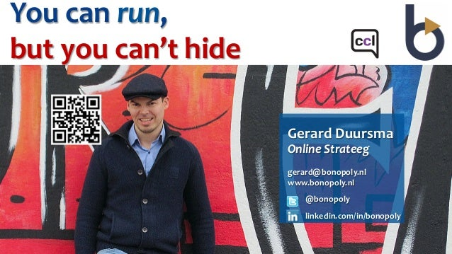 Marketing 3.0 - You can run, but you can't hide