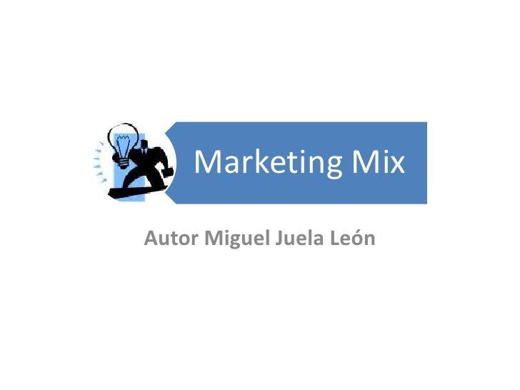 Autor Miguel Juela León<br />
