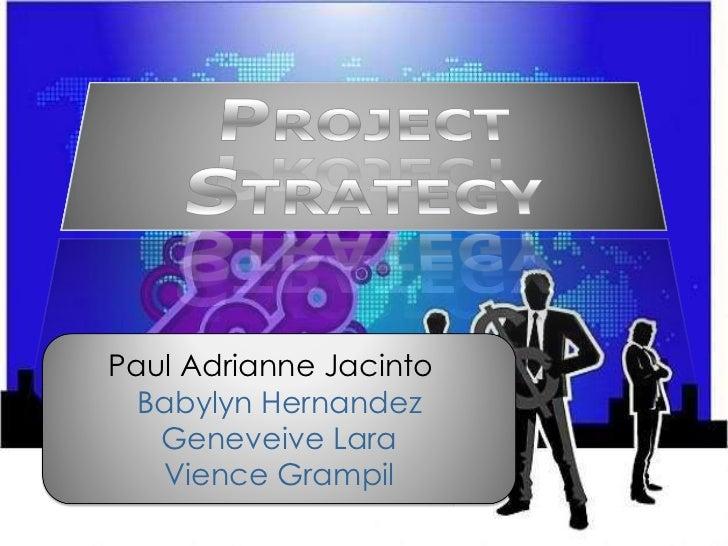 Paul Adrianne Jacinto  Babylyn Hernandez Geneveive Lara Vience Grampil