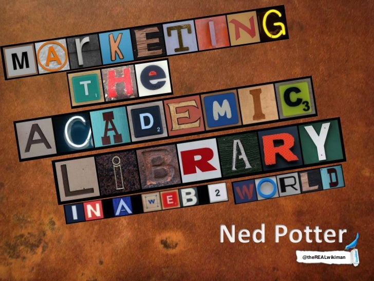Marketing academic libraries in a web 2 world