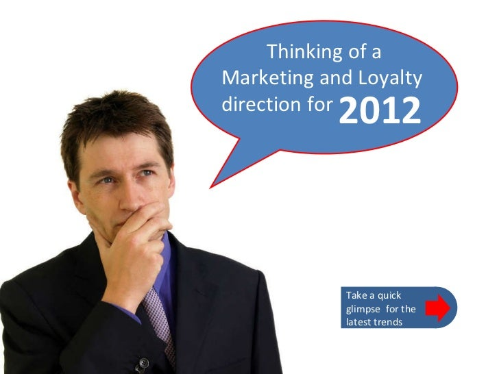 Top 10 Marketing & Loyalty Trends for 2012