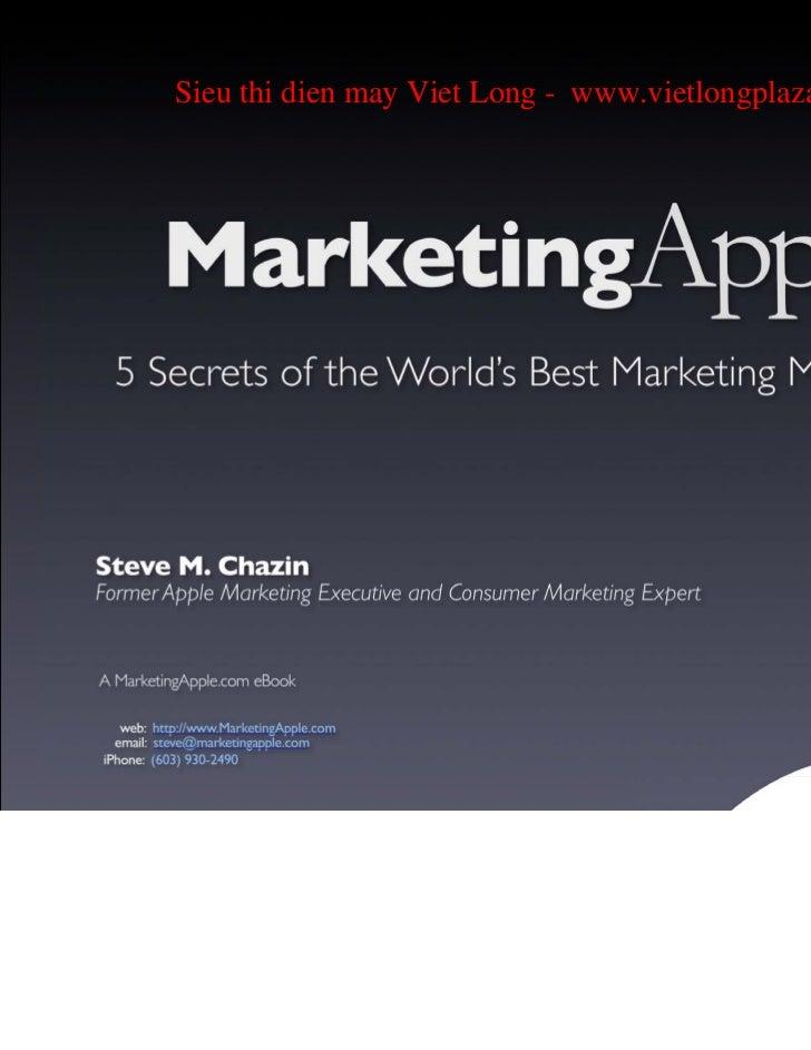 Marketing apple e book