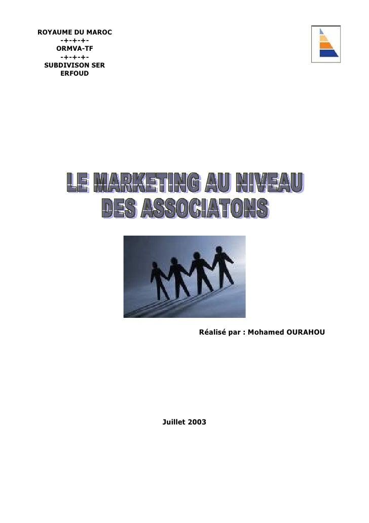 Marketing Associatif