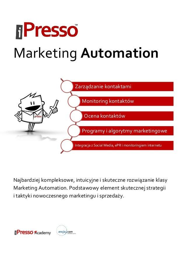 Marketing Automation w iPresso