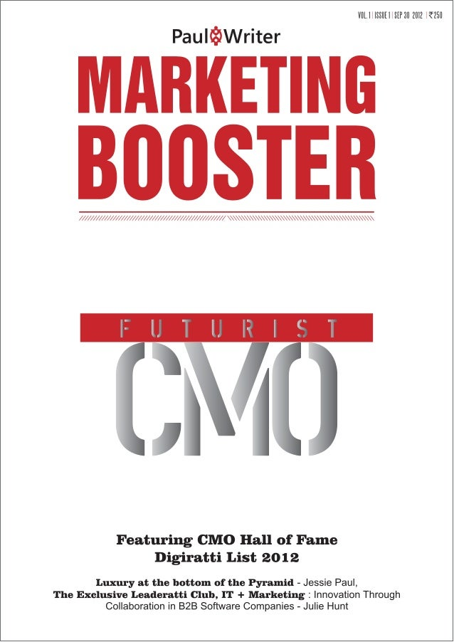 Marketing booster cmo, vol 1