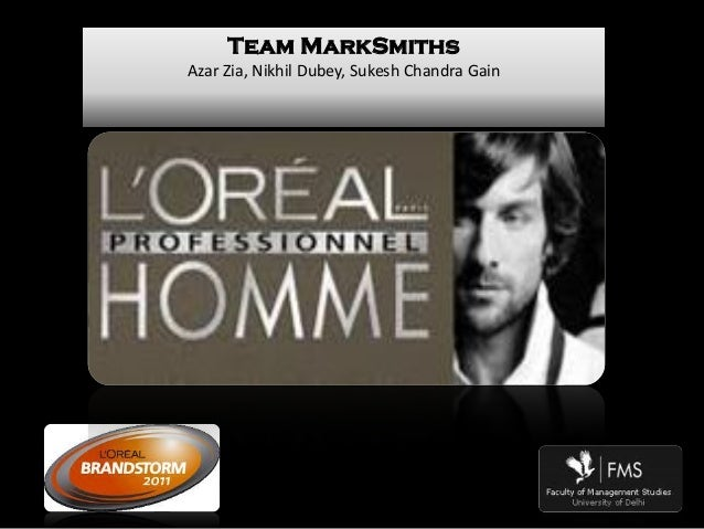 Marketing & branding strategy for Men's Grooming Products_ L'Oreal Brandstorm Challenge