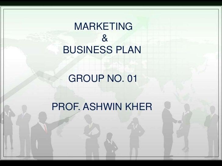 Marketing & business plan