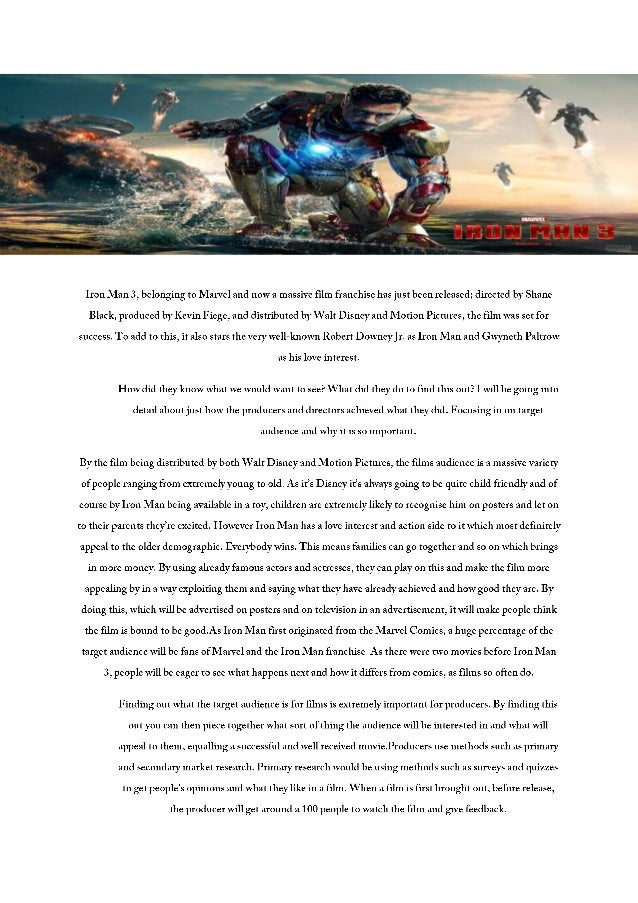 Marketing campaign of_iron_man_3