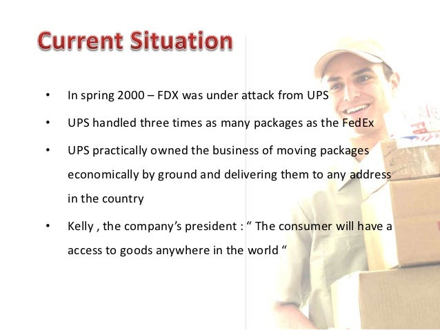 fedex marketing case 2017-6-15  the case discusses in detail about the entry and expansion strategies of the two us-based logistics companies - fedex and ups in the chinese market the case examines the contrasting strategies adopted by fedex and ups in their efforts to establish presence in china.