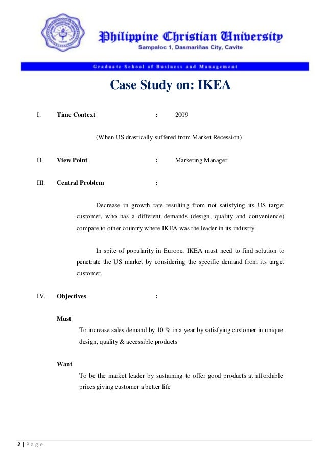 Case study format example - Quality Paper Writing Help that Works