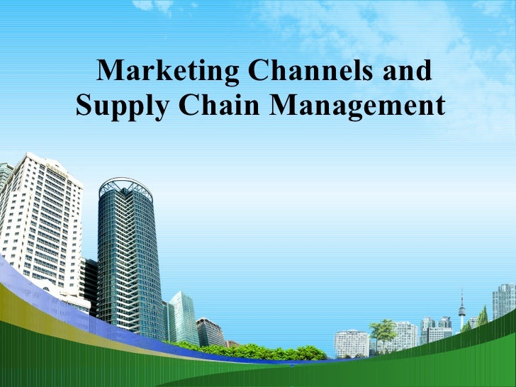 Marketing channels ppt@ bec doms
