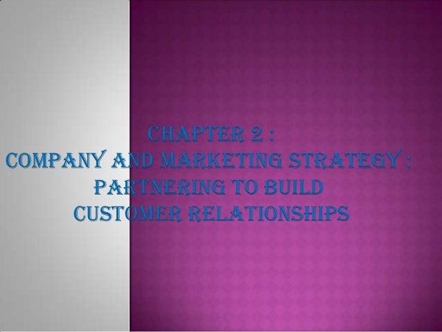 Marketing chapter 2