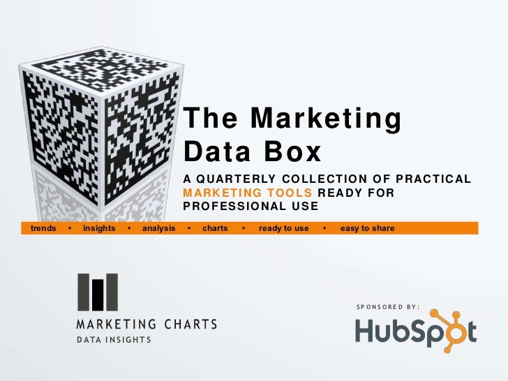 The Marketing                                          Data Box                                          A Q U AR T E R LY...