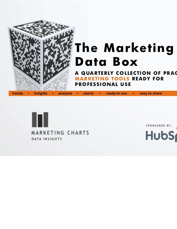 The Marketing                                          Data Box                                          A Q U A R T E R L...