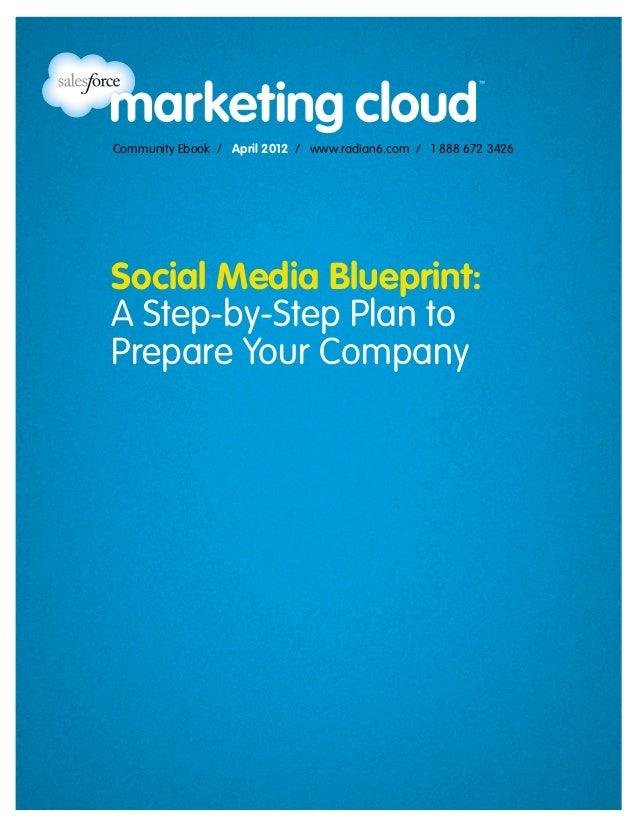 Community Ebook / April 2012 / www.radian6.com / 1 888 672 3426Social Media Blueprint:A Step-by-Step Plan toPrepare Your C...