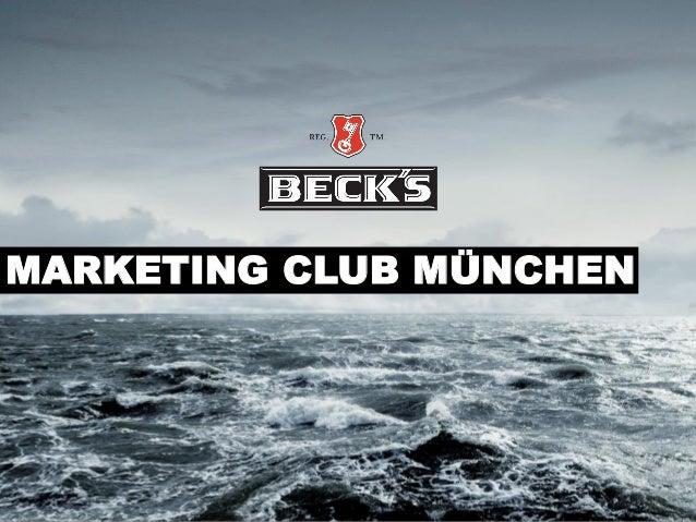Online-Strategie von Beck's - Vortrag beim Marketing-Club München
