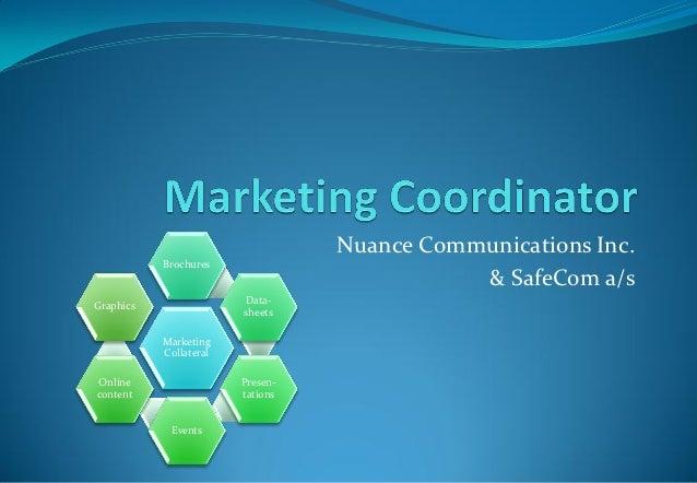 Nuance Communications Inc.           Brochures                                             & SafeCom a/s                  ...