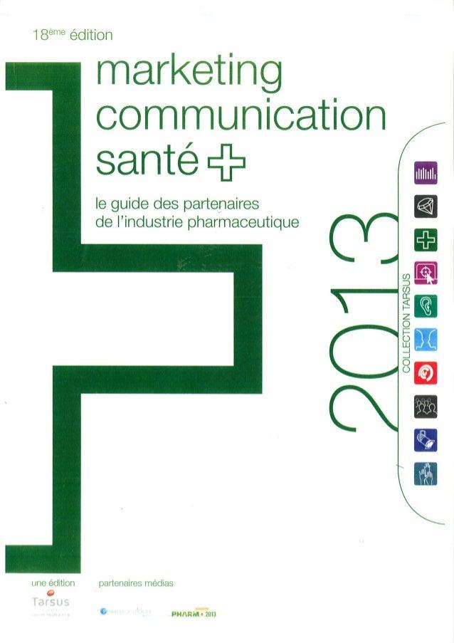Marketing communication santé 2