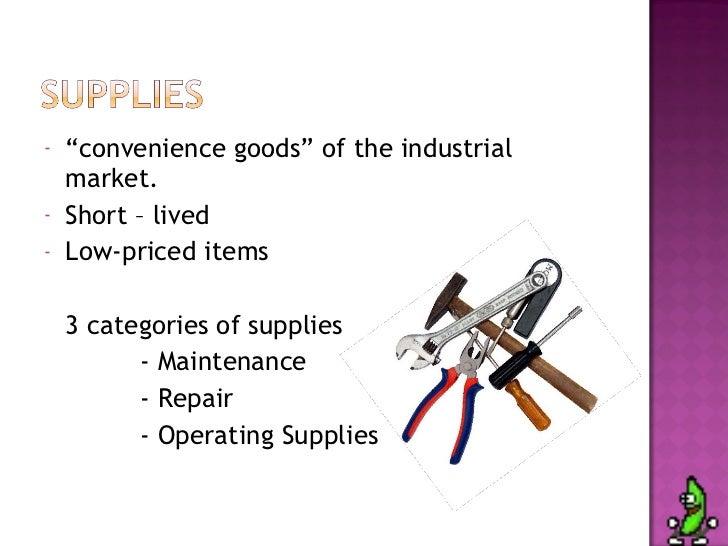 "Comparison Goods And Convenience Goods "" Convenience Goods"""