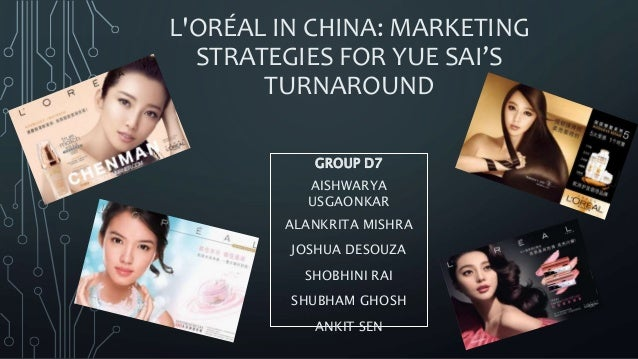 loréals global brand management strategies A global flotilla of complementary brands  facebook and l'oréal share the vision that augmented reality is becoming key for product and brand discovery and.