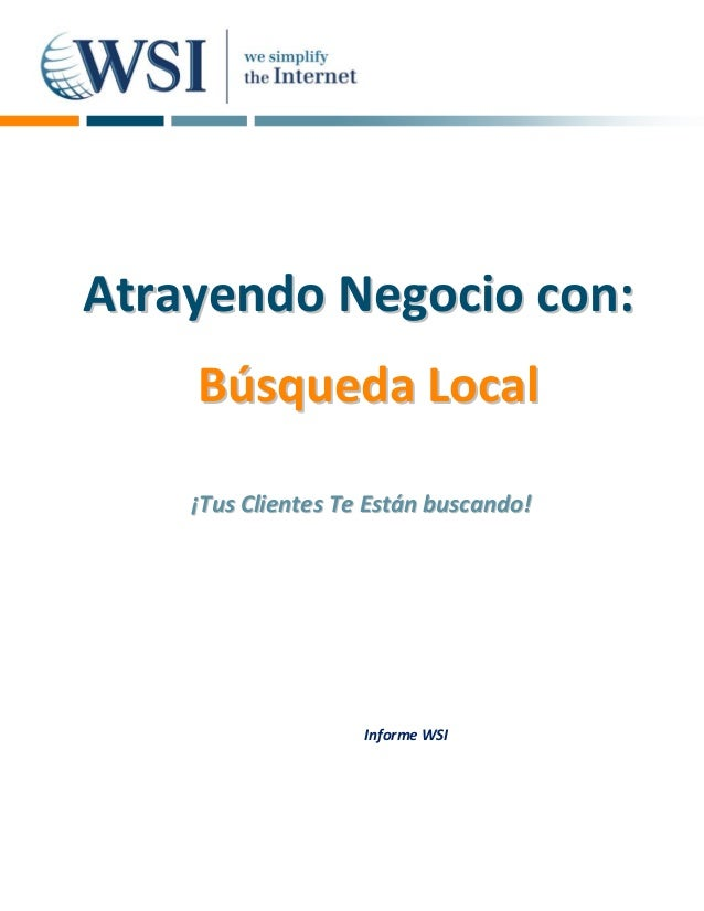 Marketing de busqueda local seo