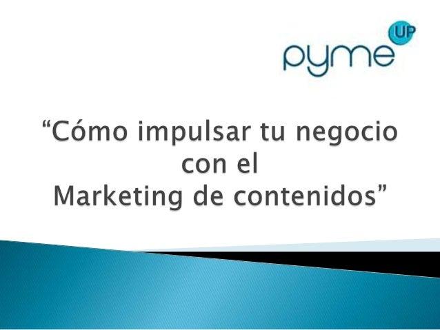    Content Marketing, ¿qué es?   Cómo implementar una estrategia de Content    Marketing   El Crowdsourcing como soluci...