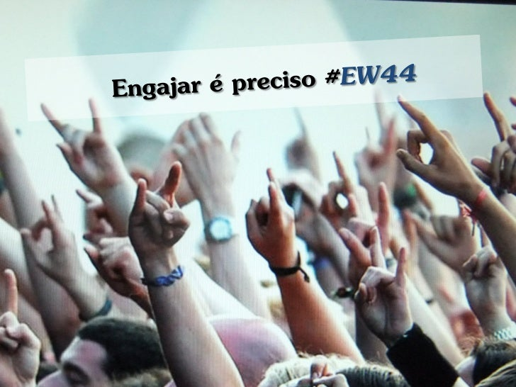 Marketing de Engajamento - EW44