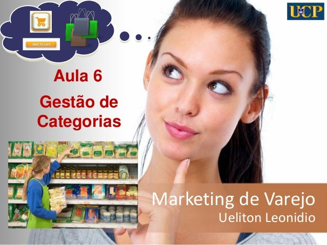 Marketing de Varejo Ueliton Leonidio 1 Aula 6 Gestão de Categorias