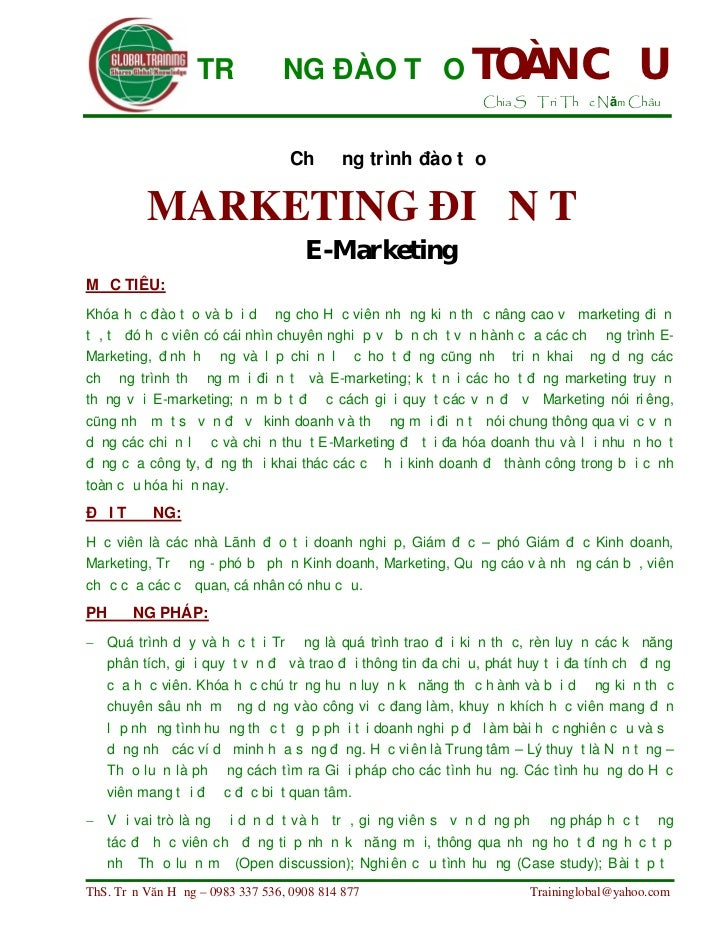 Marketing dien tu