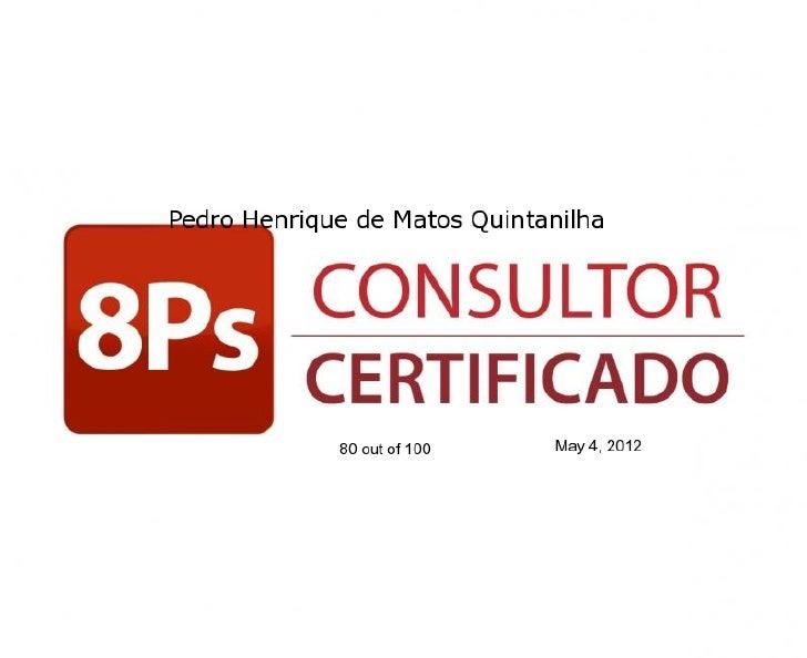 Marketing digital   consultor certificado 8 ps do marketing digital