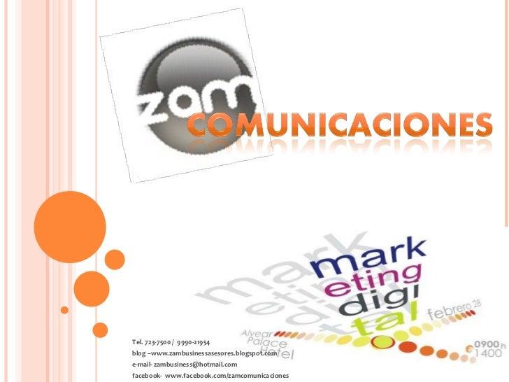 Tel. 723-7500 /  9990-21954  blog –www.zambusinessasesores.blogspot.com e-mail- zambusiness@hotmail.com facebook-  www.fac...