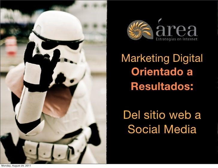 Marketing digital orientado a resultados