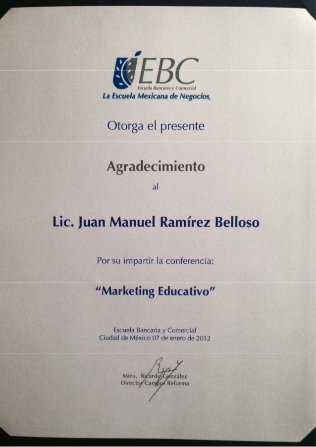 Marketing educativo reforma