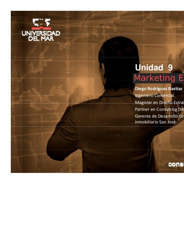 Marketing estrategico unidad 9_drb