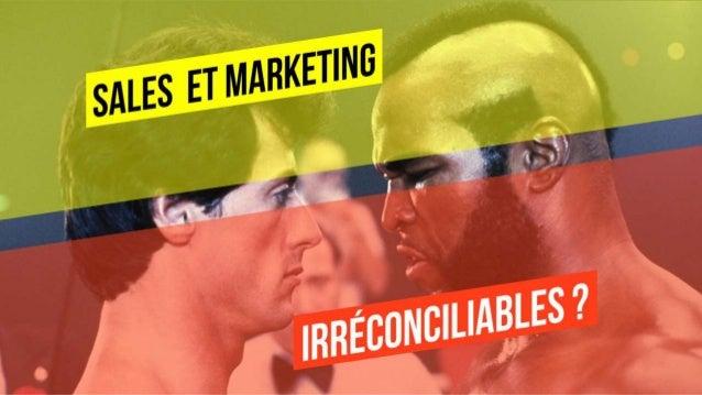 Sales Et Marketing : irréconciliables ? Le couple Marketing et Commercial