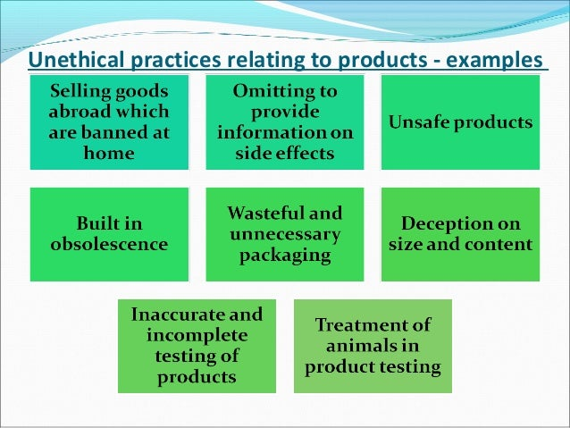 unethical research practices What are the major ethical issues in conducting research is there a conflict between the research ethics and the nature of nursing the ana code of conduct declares that the nurse protects the clients and the public from unethical, incompetent or illegal practice of any person.