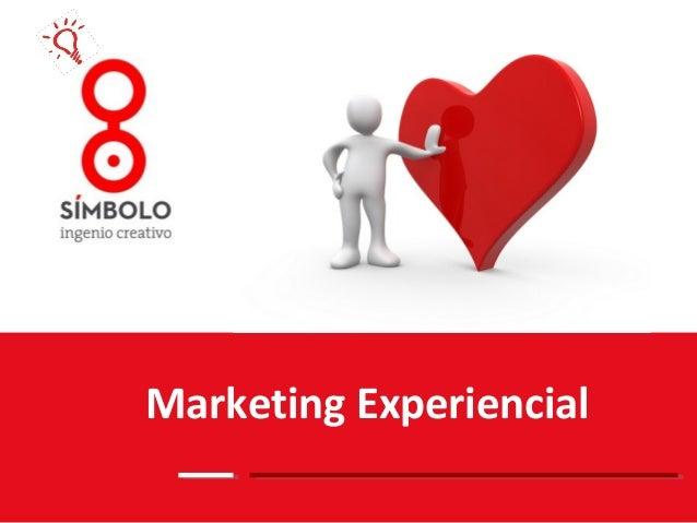 Marketing experiencial