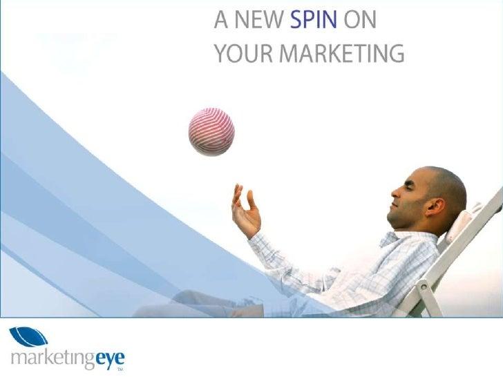 Marketing Eye - small business marketing