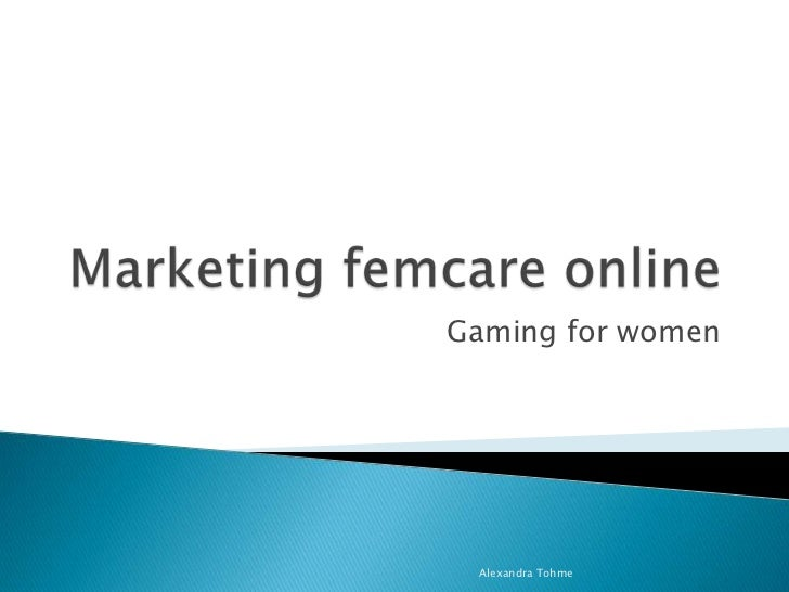 Marketing Femcare Products Online
