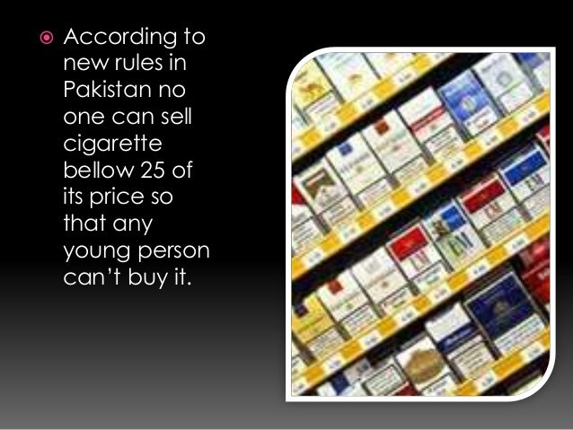 import of cigarettes to us