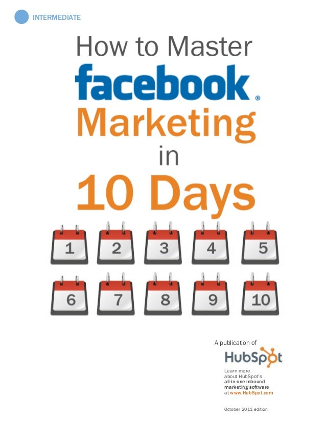 Marketing for facebook by hubspot