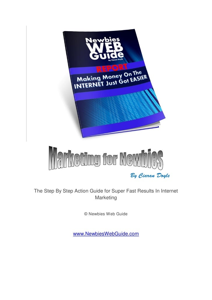 The Step By Step Action Guide for Super Fast Results In Internet                           Marketing                      ...
