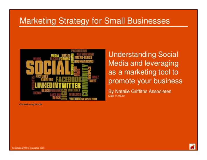 Marketing Strategy for Small Businesses                                         Understanding Social                      ...