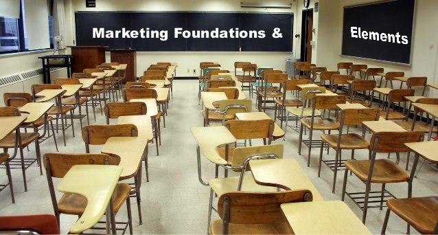 Marketing foundations & elements