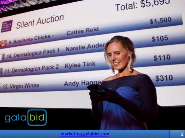 Marketing galabid- Smarter Silent Auctions